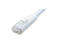 Ziotek CAT6 Patch Cable W/ Boot - 25ft White