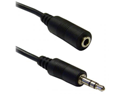 Offex Wholesale 3.5mm Stereo Male / 3.5mm Stereo Female 3.5mm Stereo Extension Cable, 6 ft