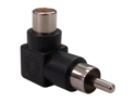 Offex Wholesale RCA Right Angle Adaptor, Female to Male (elbow)