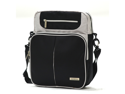 "Olympia 13.5"" Laptop Carrying Case Safety Messenger Bag in Black"