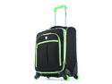 """Olympia O-Tron 22"""" Expandable Outdoor Travel Carry-on Luggage suitcase set in Lime"""