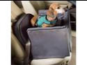 Snoozer Luxury Lookout II Removable Pet Seat / Dog Carrier Car Seat - Medium, Dark Chocolate / Buckskin