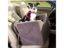 Snoozer Pet Dog Cat Puppy Outdoor Lookout I Car UV Secure Safety Travel Seat Medium Buckskin/Java