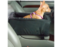 Snoozer Pet Dog Cat Puppy Outdoor Travel Comfortable Luxury Console SUV Car Safety Seat Small Black/Herringbone