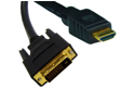 Offex HDMI to DVI Cable, HDMI Male to DVI Male, CL2 rated, 3 foot