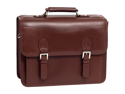 Siamod Manarola Belvedere Leather Double Compartment Laptop Case