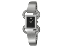Movado Linio Stainless Steel Black Dial Ladies Watch 0606471