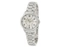 Bulova Adventurer 96M109 Women's Quartz Stainless Steel Analog Watch, Silver Strap with Mother-of-Pearl Dial