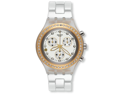 Swatch Full Blooded Marvelous Yellow Unisex Watch SVCK4068AG