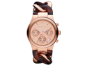 Michael Kors Runway Tortoise Twist Chain Link Ladies Watch MK4269