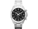 Fossil Retro Traveler Stainless Steel Chronograph Mens Watch CH2848