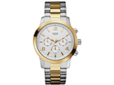 GUESS Two-Tone Chronograph Mens Watch U0123G1