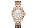 GUESS Rose Gold-Tone Polished Glamour Ladies Watch U0147L3