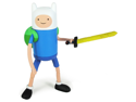 "Adventure Time With Finn & Jake 5"" Action Figure: Stretchy Finn"