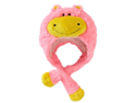 My Pillow Pets Premium Plush Hat Neonz Neon Pink/Yellow Hippo