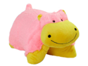 "My Pillow Pets Premium 18"" Plush Pillow Neonz Neon Hippo"