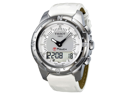 Tissot T-Touch II Multi-Function Silver Dial Titanium Watch T0472204608600