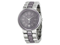 Movado Cerena Smoky Lilac Dial Stainless Steel and Ceramic Ladies Watch 0606553