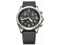 Victorinox Swiss Army Infantry Vintage Chronograph Gray Dial Mens Watch 241578