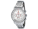 Breitling Montbrillant 01 Chronograph Silver Dial Mens Watch AB013012-G709