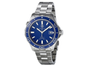 Tag Heuer Aquaracer Calibre 5 Blue Dial Steel Mens Watch WAK2111.BA0830