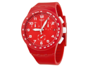 Swatch Red Shadow Unisex Watch SUSR400