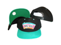 San Antonio Spurs Black/Teal Two Tone Snapback  Hat / Cap