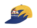 Mitchell & Ness NBA Denver Nuggets Throwback Shark Tooth Snapback Hat