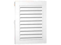 Canplas 626075-00 12-Inch X 18-Inch Rectangle Gable Vent, White