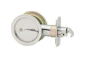 Kwikset Corporation 33526DROUNDPOCKE Round Pocket Door Lock Privacy - Round - Ca