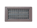 Vnt Fndtn Thrpls Brn 8X16In WITTEN AUTOMATIC VENT Foundation Vents Brown