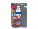 Dickies 1144624BK XL 2 Count Extra-Large Black Work T-Shirt Short Sleeve