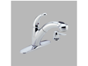 Delta 468-SD-DST Cicero Chrome Single Handle Pull-Out Kitchen Faucet with Soap D