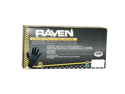 SAS Safety 66518 Raven Powder-Free Disposable Nitrile Gloves, Large - 100 Pack