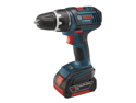 DDS181-02 18V Cordless Lithium-Ion Compact Tough 1/2 in. Drill Driver with 2 Slim Pack HC Batteries