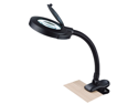 Normande Lighting GP3-660 16.5-in Black 12 Watt Daylight Clip On Lamp With Magni