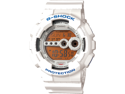 Casio GD100SC-7 Men's G-Shock Digital White Resin Dive Watch