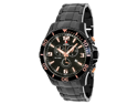 Swiss Precimax Tarsis Pro SP13229 Men's Black Dial Stainless Steel Chronograph Watch