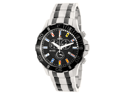 Swiss Precimax Men's Armada Pro SP13054 Two-Tone Stainless-Steel Swiss Chronograph Watch with Black Dial