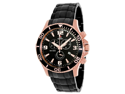 Swiss Precimax Tarsis Pro SP13230 Men's Black Dial Stainless Steel Chronograph Watch