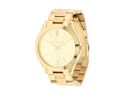 Michael Kors Women's Runway MK3179 Gold Stainless-Steel Analog Quartz Watch with Gold Dial