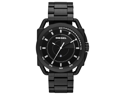 Diesel Men's DZ1580 Black Stainless-Steel Analog Quartz Watch with Black Dial