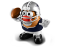 NFL Dallas Cowboys Series 2 Mr. Potato Head