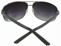 Guess '6325' Metal Aviator Sunglasses