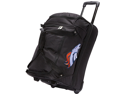 Denco Sports Luggage NFL Denver Broncos 22in. Drop Bottom Wheeled Duffel Bag
