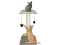 Vo-Toys Scratch n Play Catnip Scratching Post 24in