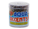 Zoo Med BA-1 Aqua Accents Dark River Pebbles 0.5lb