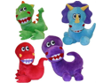 Vo-Toys Jumbo Jurassics 7in Dog Toy Assorted Styles