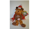 Vo-Toys Holiday Christmas Rope n Plush Pals Assorted Styles and Colors