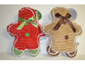 Vo-Toys Holiday Ribbed Gingerbead Man Assorted Styles and Colors